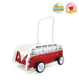 Hape Hape Classical Bus T1 Walker (Red)
