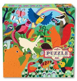 EeBoo eeBoo Busy Meadow 64 Piece Puzzle