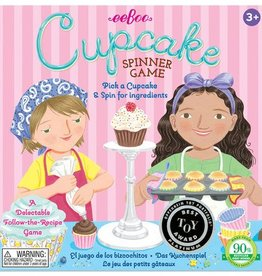 EeBoo Cupcake Spinner Game