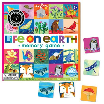 EeBoo eeBoo Life on Earth Matching Game