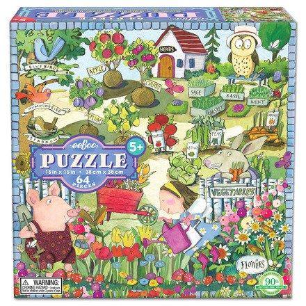 EeBoo eeBoo Growing A Garden 64 Piece Puzzle