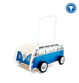 Hape Hape Classical Bus T1 Walker (Blue)