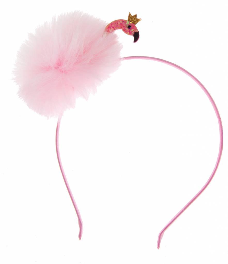 Great Pretenders Fun Flamingo Fluff Headband