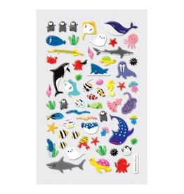 Ooly ITSY BITSY STICKERS - MARINE FRIENDS (1 SHEET)