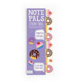 Ooly NOTE PALS STICKY NOTE PAD - DONUTS & CUPCAKES (1 PACK)