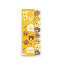 Ooly NOTE PALS STICKY NOTE PAD - BABY BEARS (1 PACK)