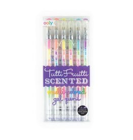 Ooly TUTTI FRUITTI SCENTED GEL PENS - SET OF 6