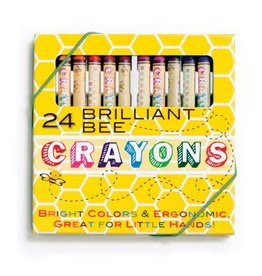 Ooly BRILLIANT BEE CRAYONS - SET OF 24