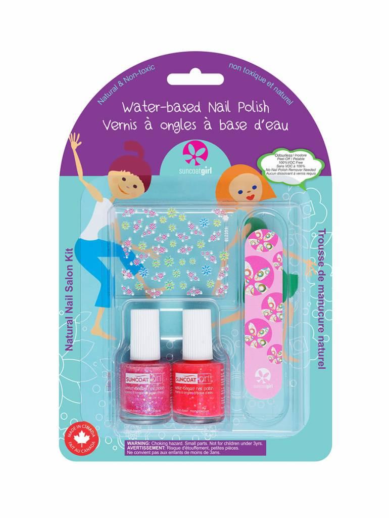 Suncoatgirl Natural Nail Salon Kit Forever Sparkles