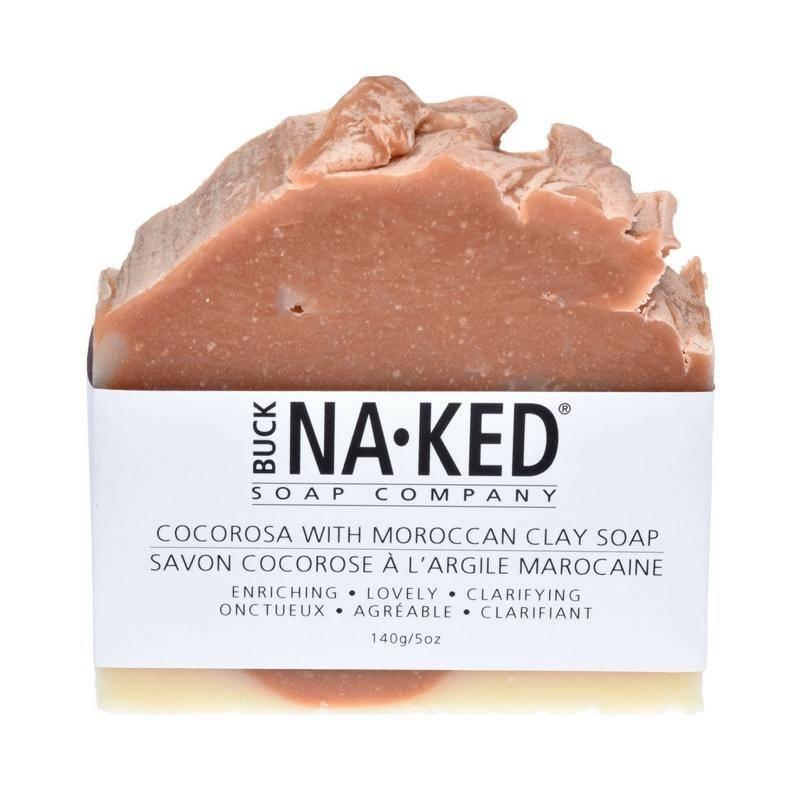 Buck Naked Soap Company CocaRosa & Moroccan Clay Soap