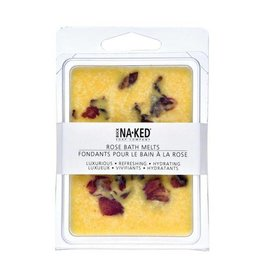 Buck Naked Soap Company Rose Bath Melts