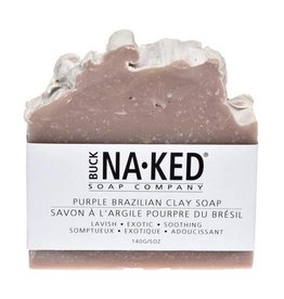 Buck Naked Soap Company Purple Brazilian Clay Soap