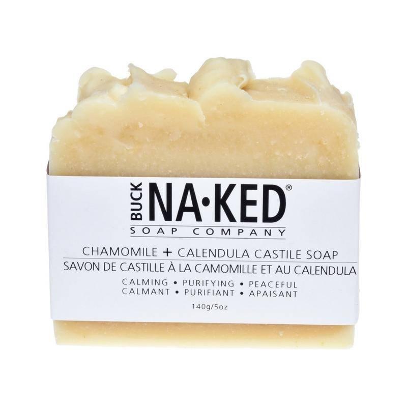 Buck Naked Soap Company Chamomile & Calendula Castile Soap