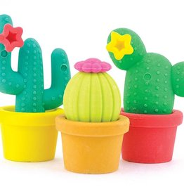 Ooly Prickly Pals Cactus Erasers Set of 3