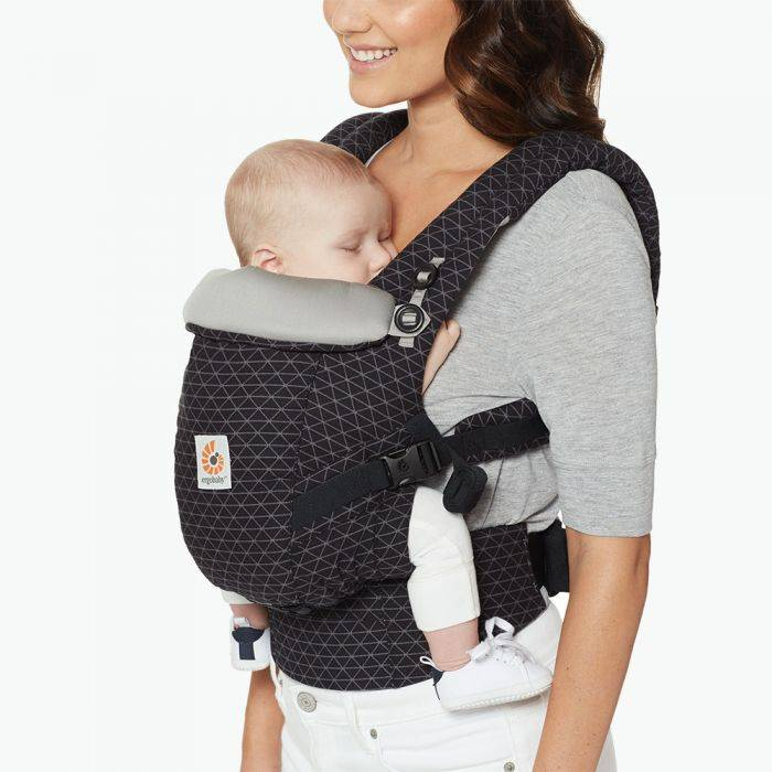 Ergobaby Ergo ADAPT Baby Carrier - Pearl Grey