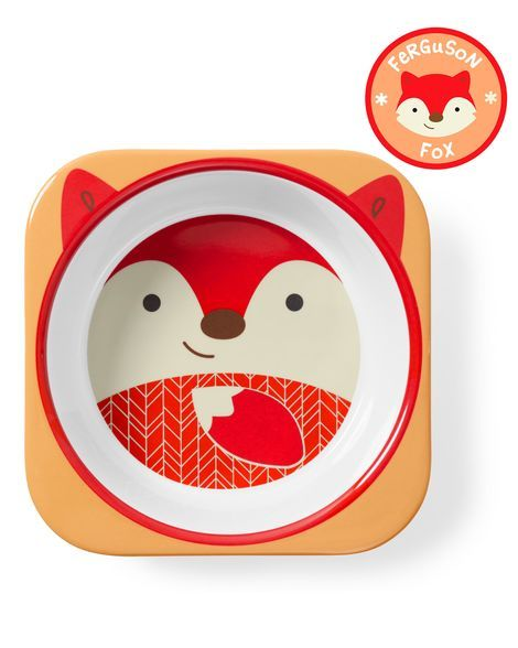 Skip Hop Zoo Bowl Fox