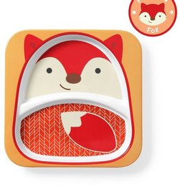 Skip Hop Skip Hop Divided Plate Fox