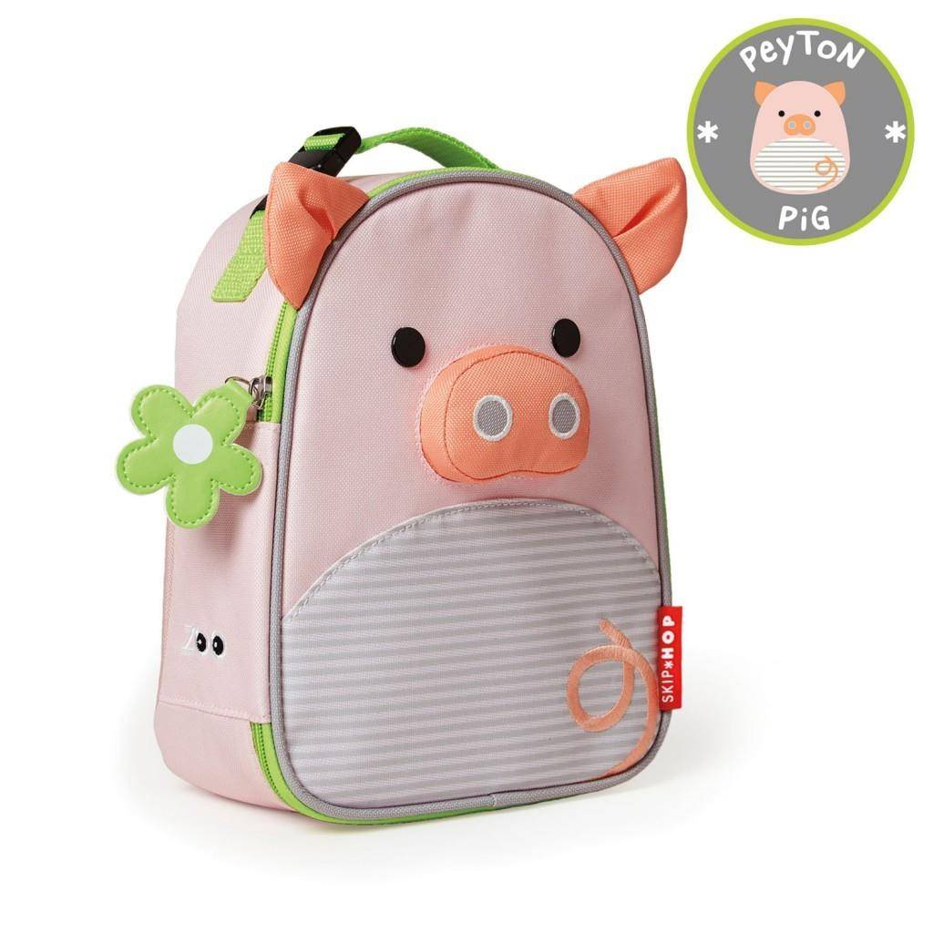 Skip Hop Zoo Lunch Bag Pig