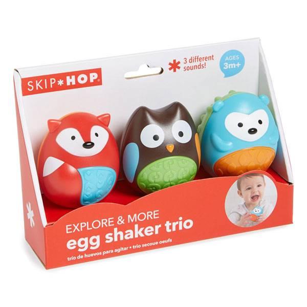Skip Hop Skip Hop Egg Shaker Trio Set