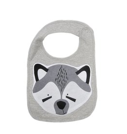 Mister Fly Mister Fly Racoon Animal Face Bib