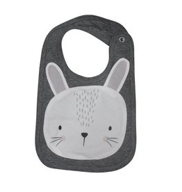 Mister Fly Mister Fly Bunny Animal Face Bib