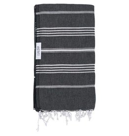 Lualoha Turkish Towel Classic Black