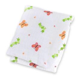 Lulujo Lulujo Cotton Muslin Garden Party Swaddling Blanket