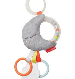Skip Hop Silver Lining Rattle Moon Stroller Toy