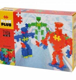 Plus Plus Mini Neon Robots 170 Pcs