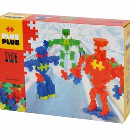 Plus Plus Plus Plus Mini Neon Robots 170 Pcs