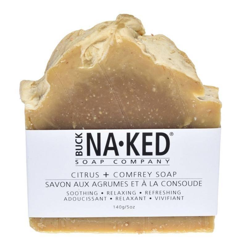 Buck Naked Soap Company Citrus & Comfrey Soap