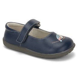 See Kai Run See Kai Run Ava Navy Shoes- Toddler Sizes