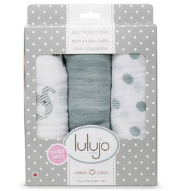 Lulujo Lulujo Mini Muslin Cotton Cloths Afrique