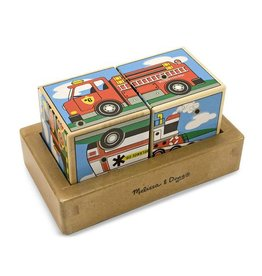 Melissa & Doug Melissa & Doug Sound Blocks Vehicles