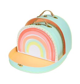 Meri Meri Meri Meri Rainbow Suitcase Set of 2