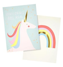 Meri Meri Meri Meri Rainbow & Unicorn Art Prints