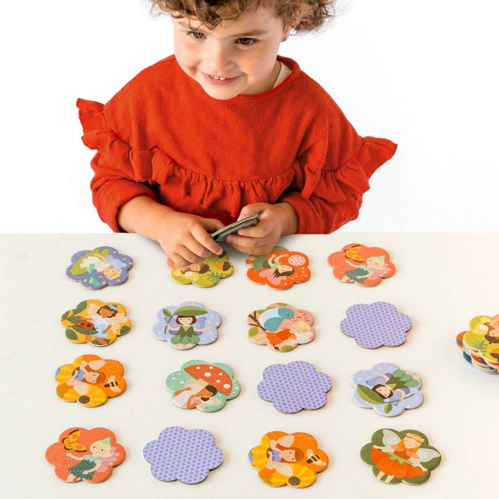 Petit Collage Fairy Friends Memory Game