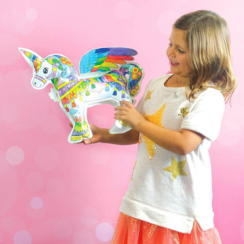 Ooly 3D Colorables Balloons Magical Unicorn