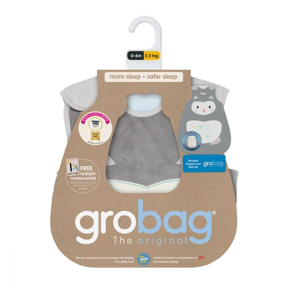Gro Company Grobag, 2.5 TOG, Size 18-36 (Anorak)