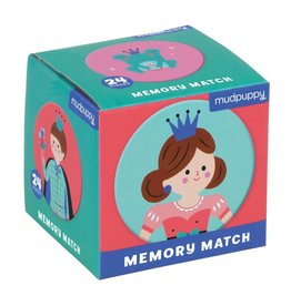 Mudpuppy Enchanting Princess Mini Memory Match Game