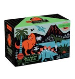 Mudpuppy Dinosaur Glow In The Dark 100pc Puzzle