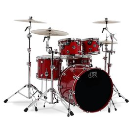Drum Workshop DW: Performance - HVX Candy Apple Red Kit