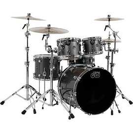 Drum Workshop DW: Performance - Gun Metal Metallic Kit