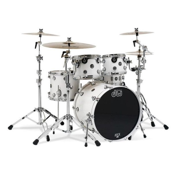 DW: Performance - White Ice Kit 12,16,20 w/ snare