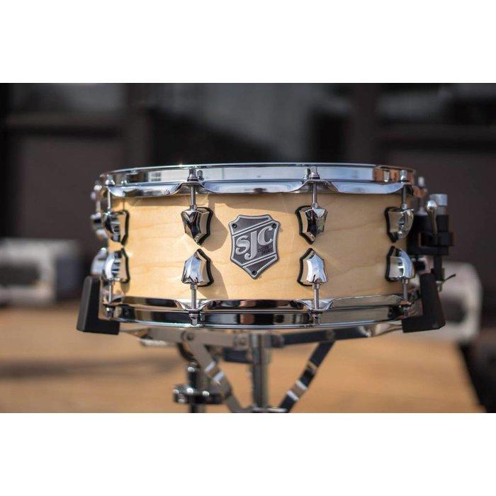 SJC: Satin Maple Snare - [ 5.5 x 14 ]