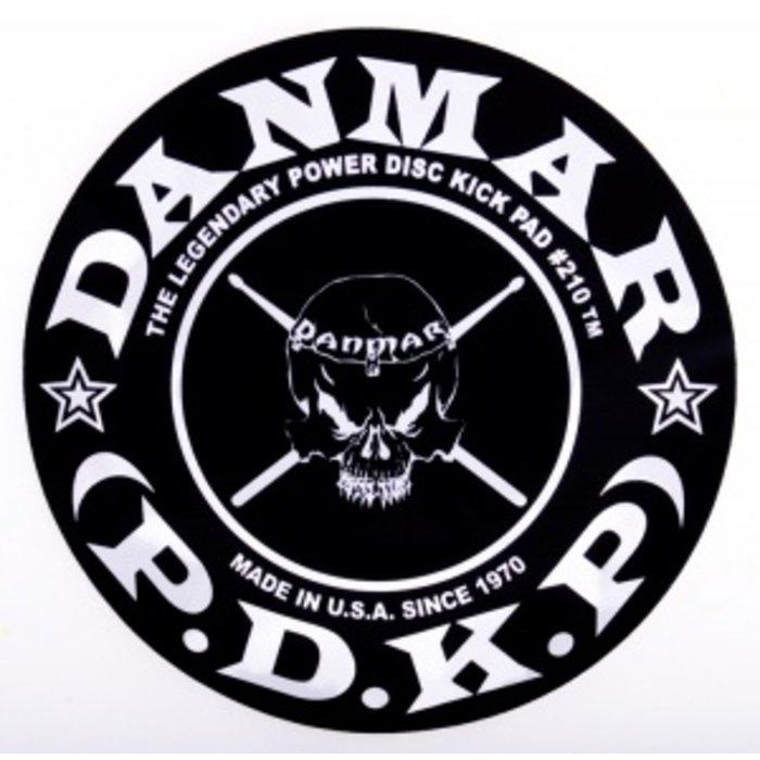 Danmar: Metal Kick #210DMK - Kick Pad