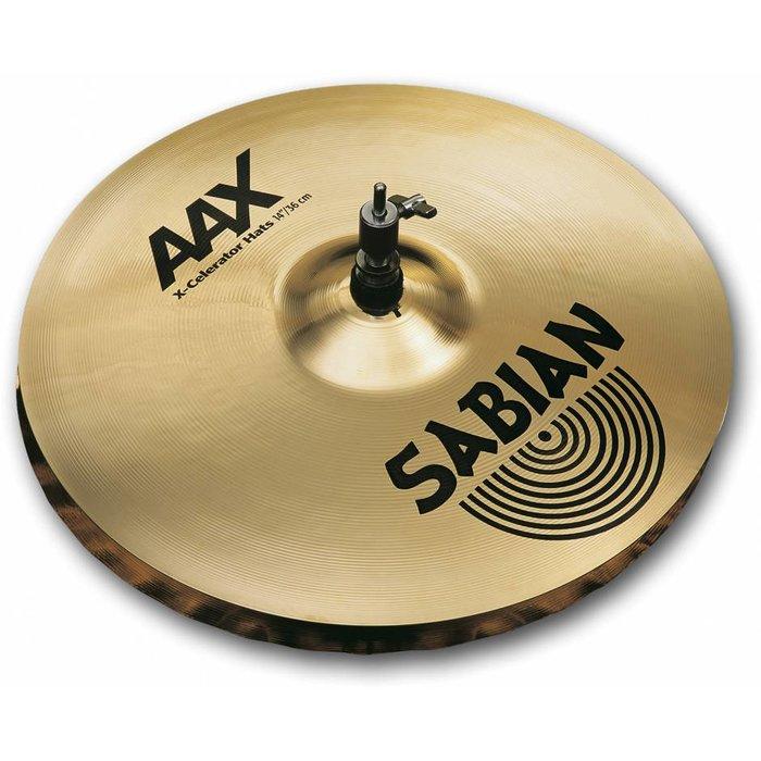 """Sabian: AAX - X-Celerator Hi Hats - 14"""""""