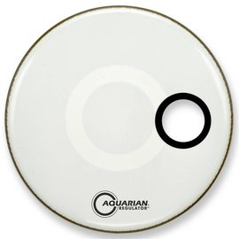 Aquarian Aqua: Regulator - Sm Hole - White - 16""