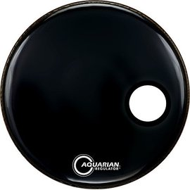 Aquarian Aqua: Regulator - Sm Hole - Black - 26""