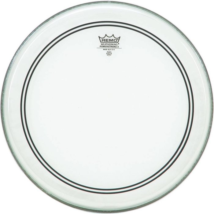 Remo: Powerstroke 3 - Clear - 22""
